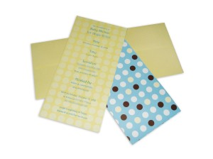 just dotty baby shower invite