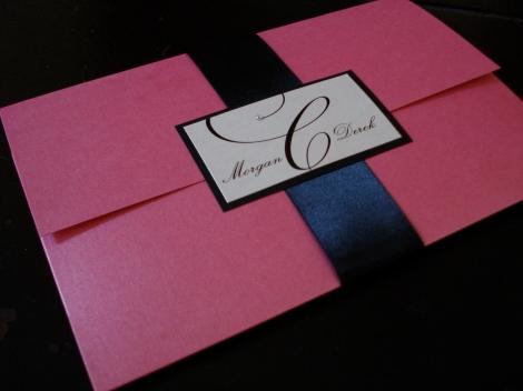 modern elegance pocket fold
