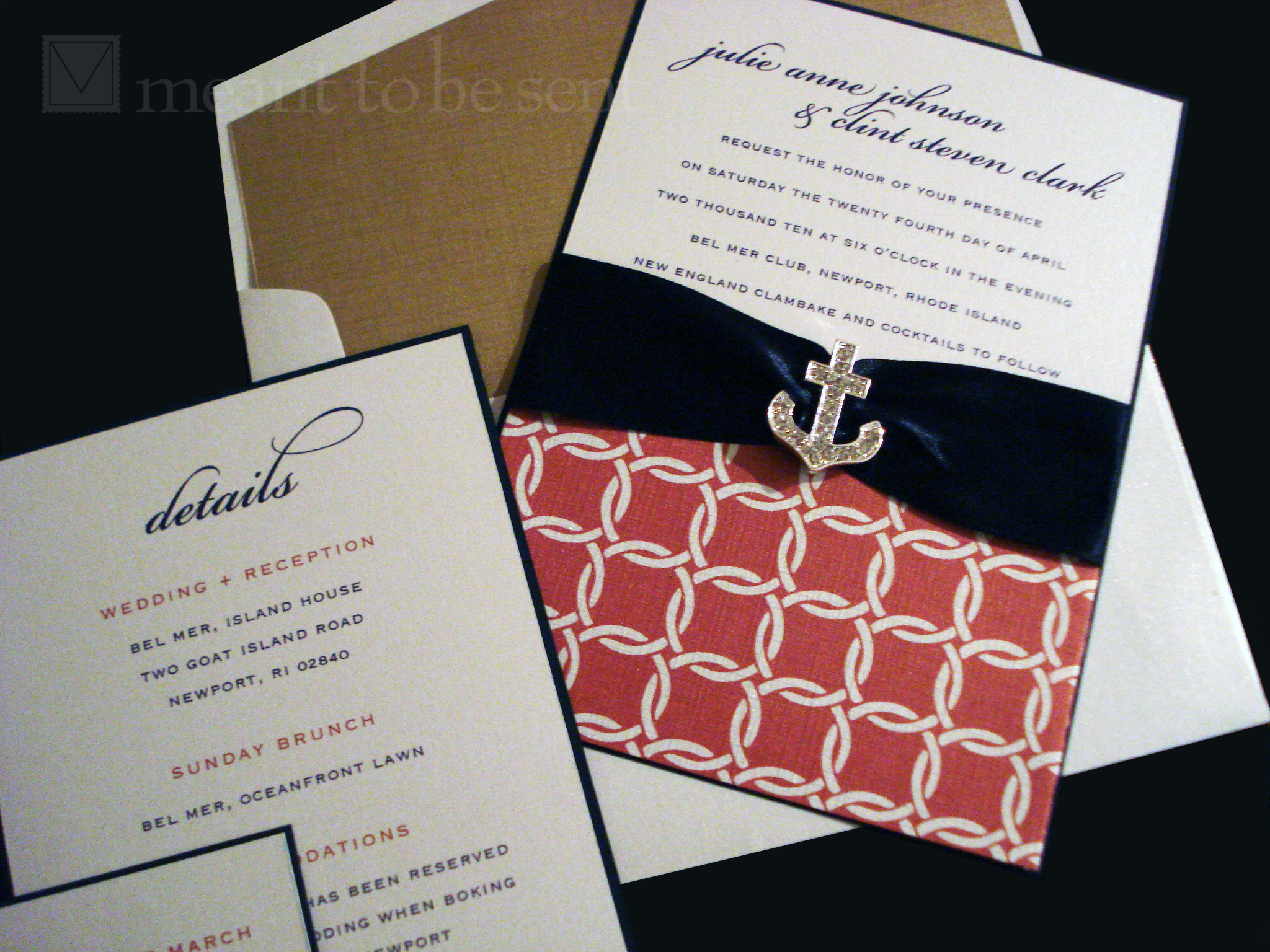 lined envelope |