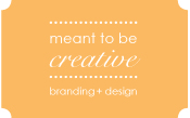 meant to be creative :: branding + design